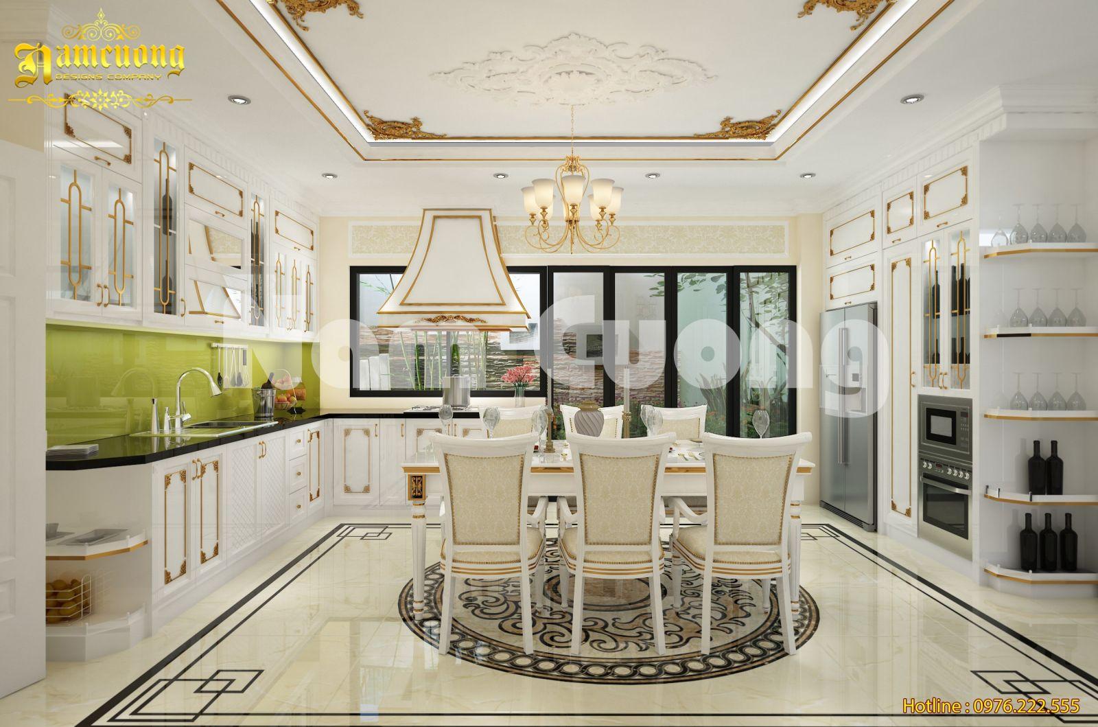 5 điều kiêng kỵ trong phong thủy khi thiết kế nội thất phòng bếp
