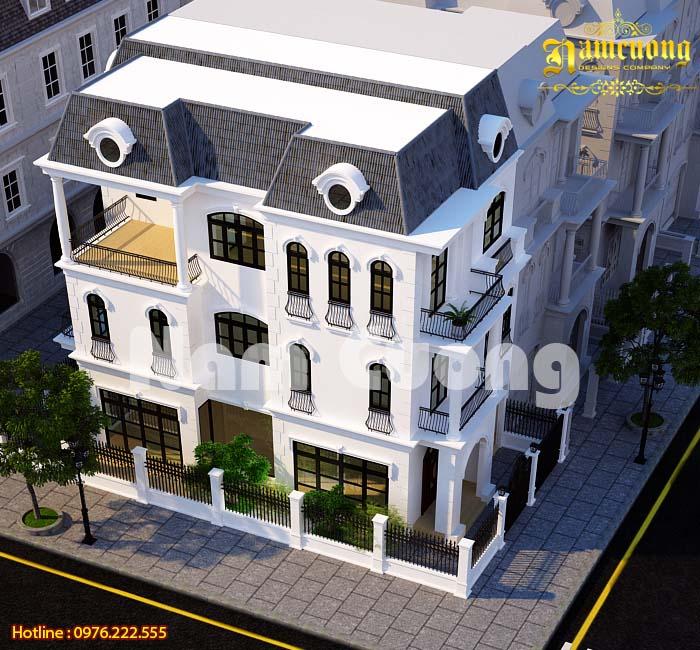 Vẻ đẹp đẳng cấp trong thiết kế biệt thự tân cổ điển tại Vinhomes