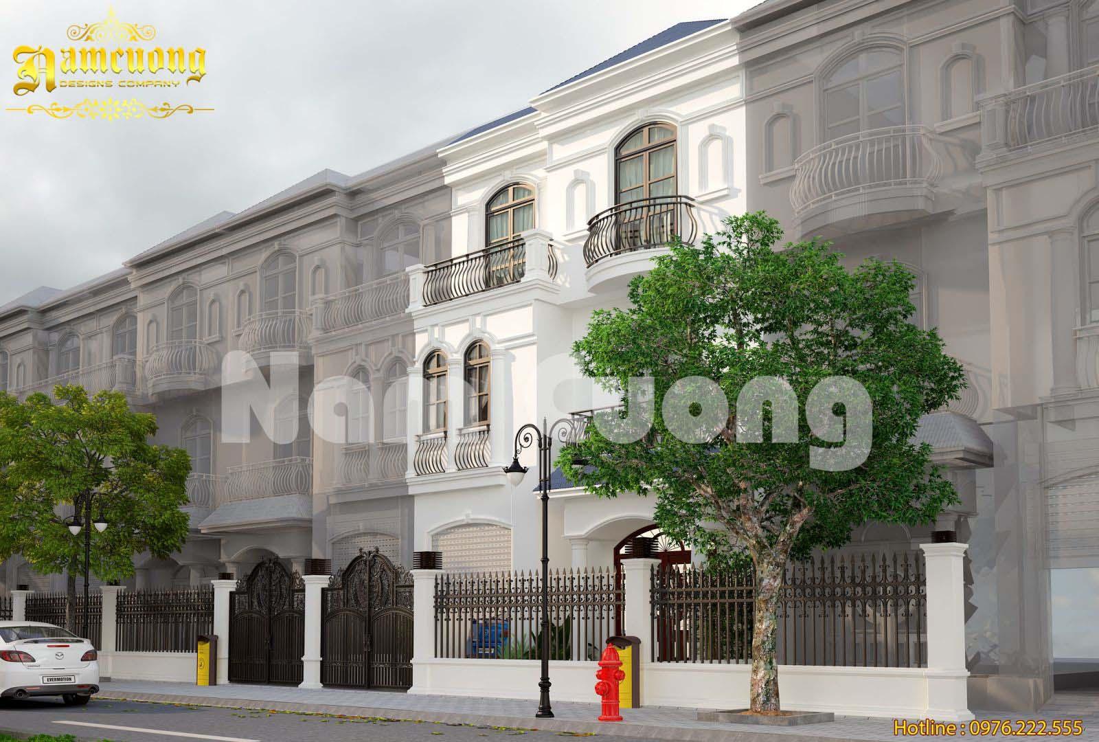 Hoàn thiện mẫu biệt thự tân cổ điển tại Vinhomes với phong cách mới lạ - BTTCD 028