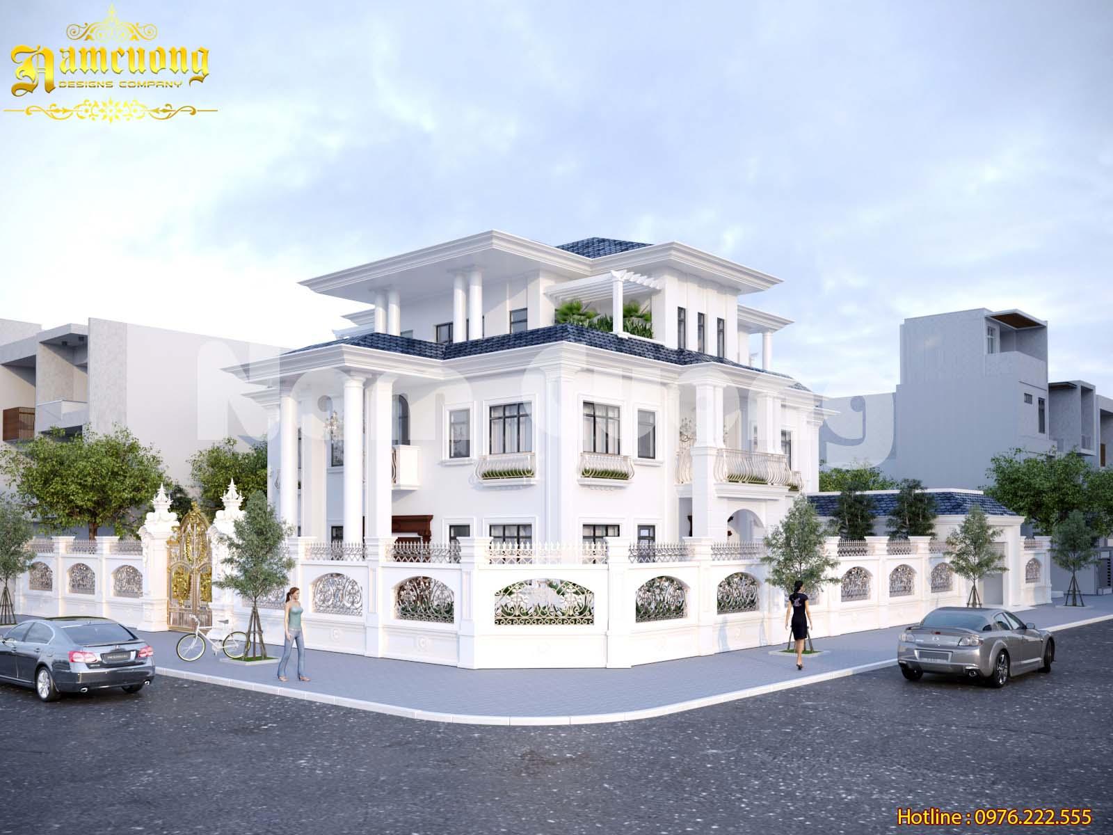Tuyển chọn 10+ mẫu biệt thự mái thái tinh hoa nét đẹp Á Đông