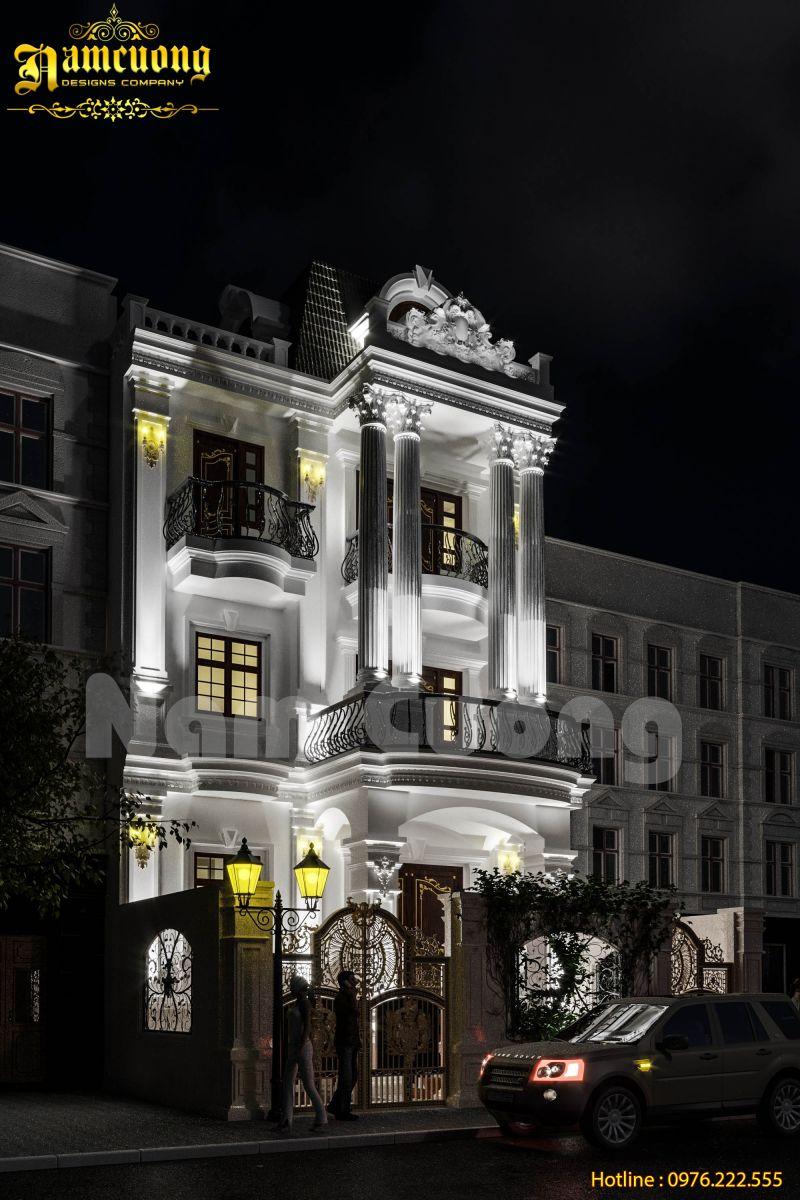 Hoàn thành công trình biệt thự tân cổ điển - BTTCD 032