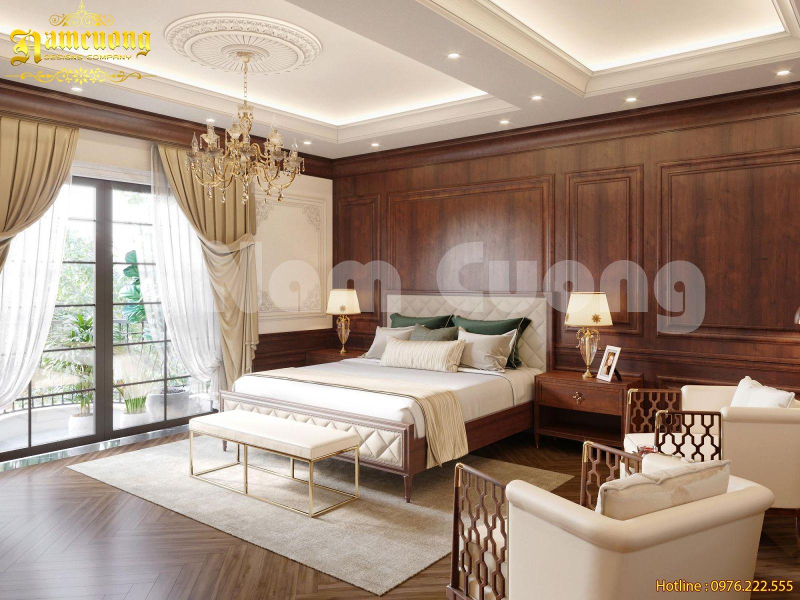 Cùng ngắm nhìn phong cách thanh lịch trong mẫu thiết kế nội thất tân cổ điển