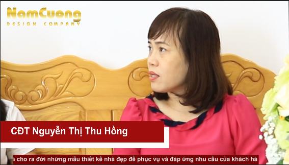 Đánh giá của CĐT Nguyễn Thị Thu Hồng- Thi công trọn gói biệt thự 3 tầng
