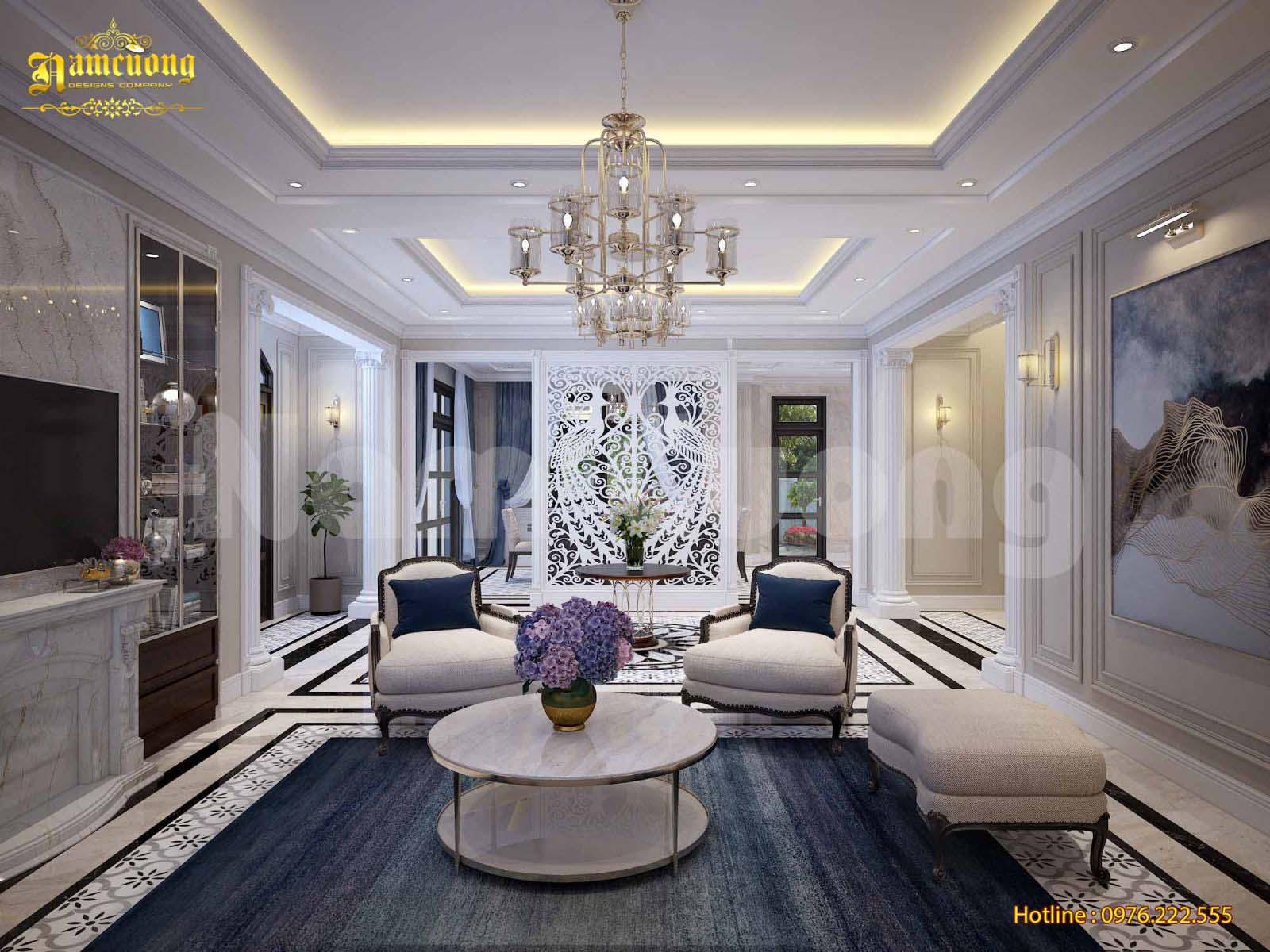 Thiết kế nội thất biệt thự phong cách tân cổ điển tại Vinhomes