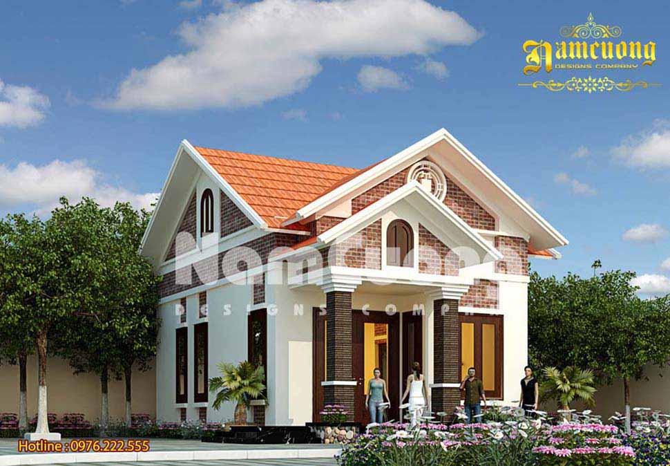 Nhìn lại mẫu thiết kế nhà vườn xinh đẹp của Nam Cường tại Hải Phòng