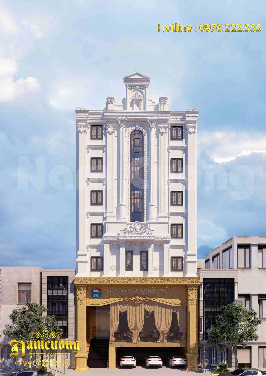 Thiết kế nha khoa tân cổ điển sang trọng tại Hải Phòng