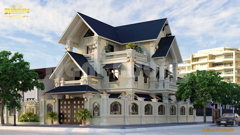 Các mẫu thiết kế biệt thự tân cổ điển đẹp