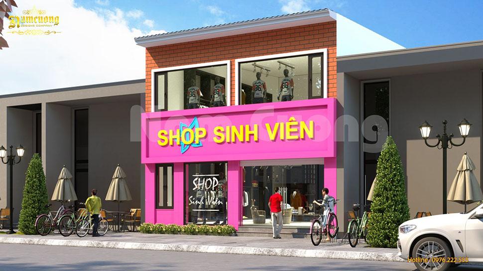 Thiết kế shop thời trang sinh viên cơ sở 3