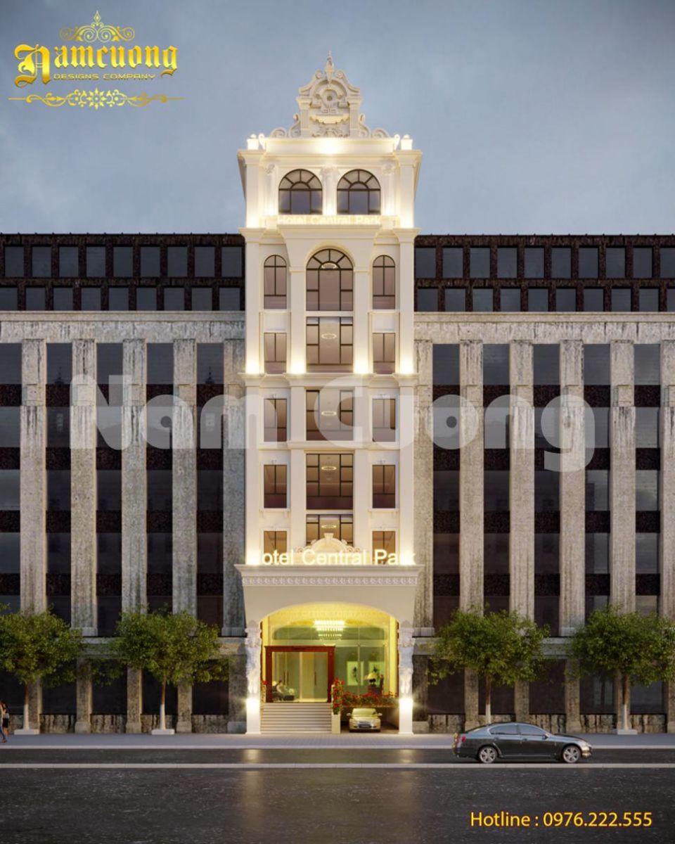 Mẫu thiết kế khách sạn 3 sao tại Đà Lạt gây ấn tượng từ ánh nhìn đầu tiên