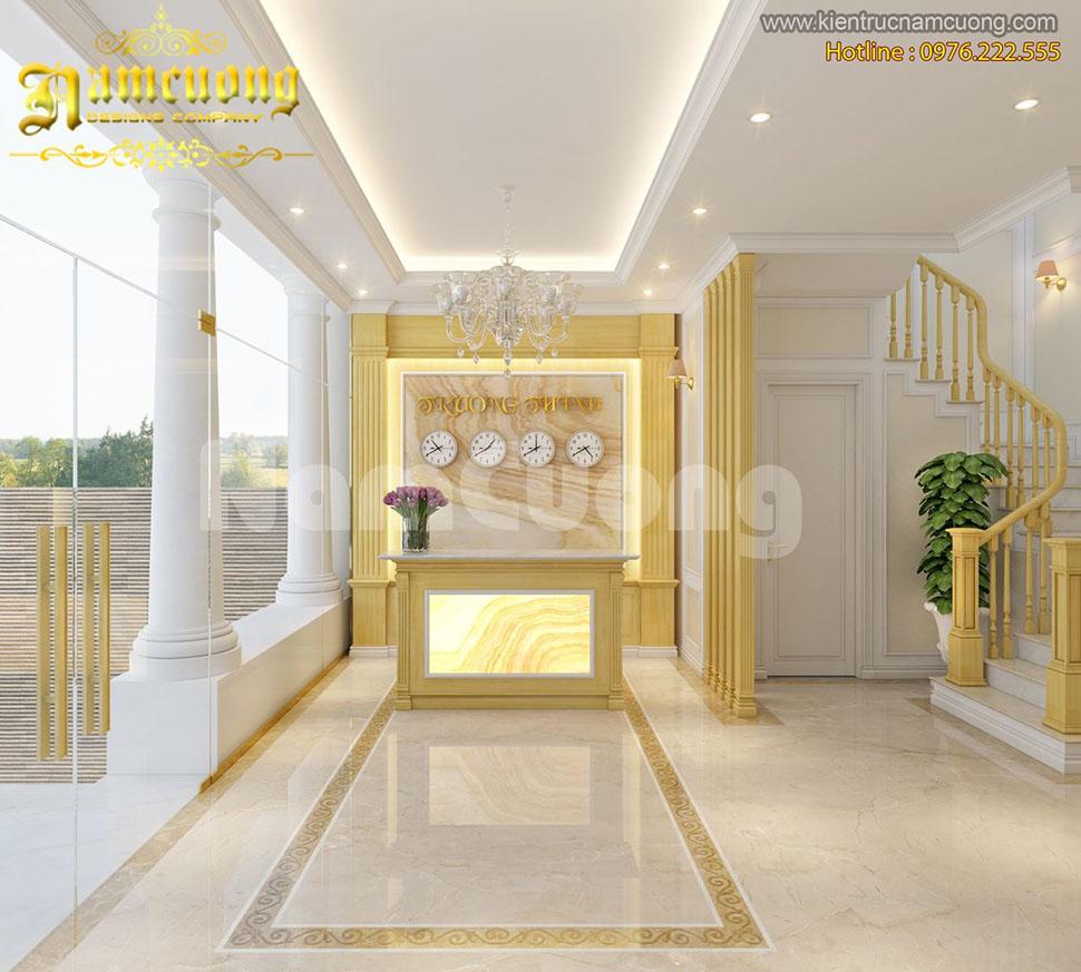 Mẫu thiết kế nội thất khách sạn hiện đại tại Hà Nội - NTKS 004