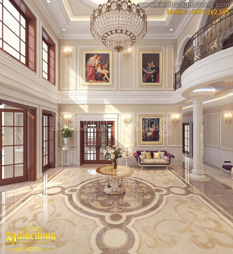 Thiết kế sảnh khách sạn sang trọng tại Hải Phòng - SKS 001