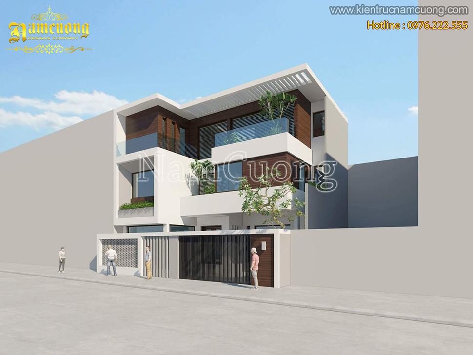 Thiết kế khách sạn kiến trúc hiện đại ấn tượng tại Hải Phòng - KSHD 001