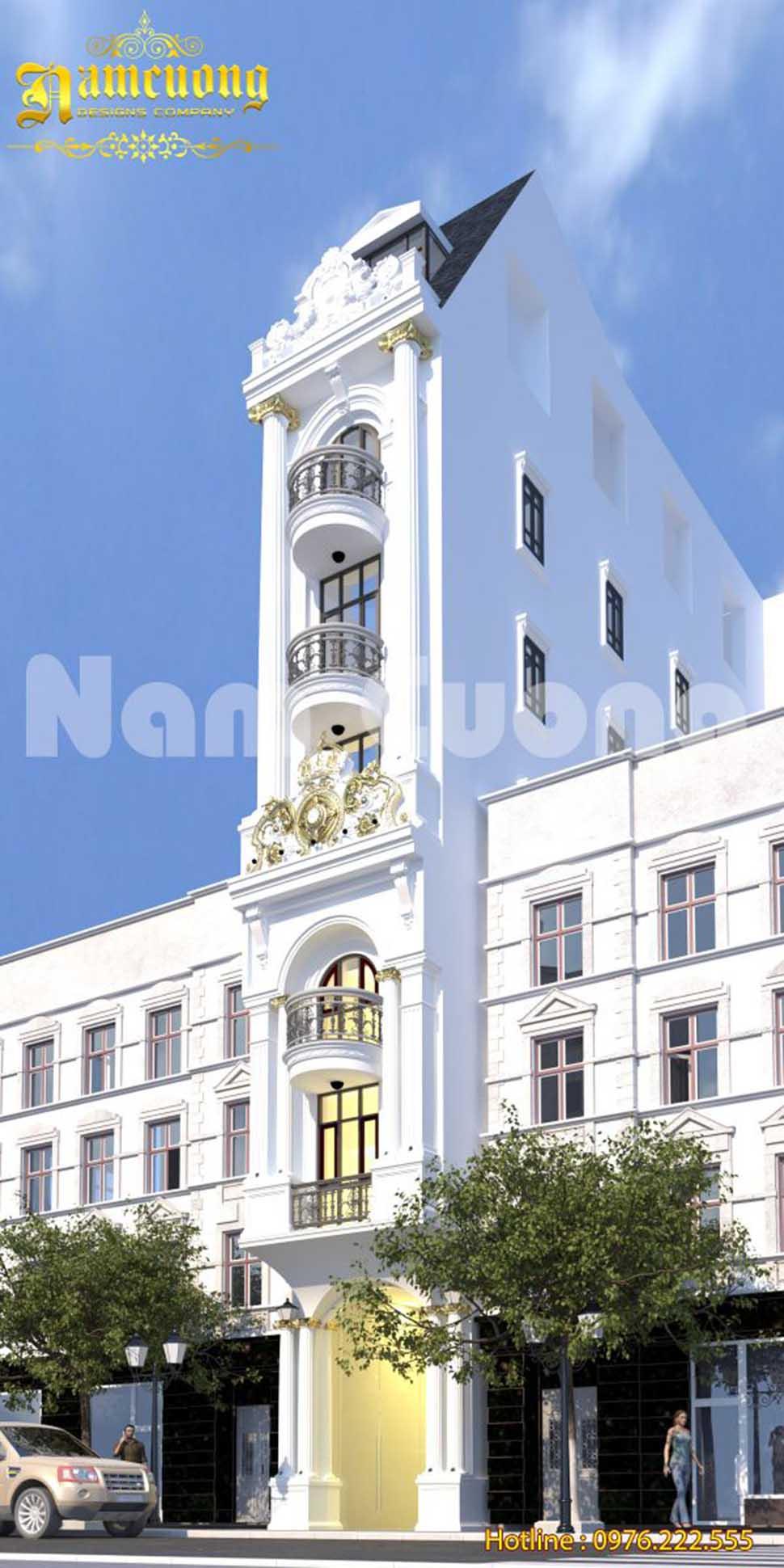 Phương án mới trong thiết kế khách sạn tân cổ điển tại Đà Lạt