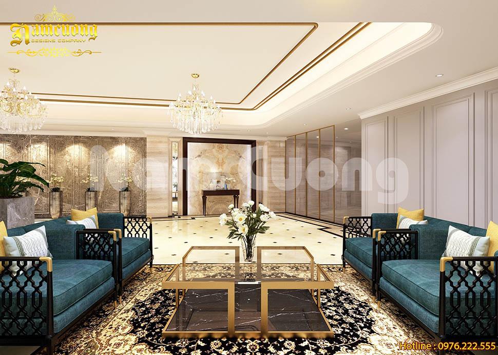 Mẫu thiết kế nội thất khách sạn tân cổ điển đẹp tại Đà Nẵng