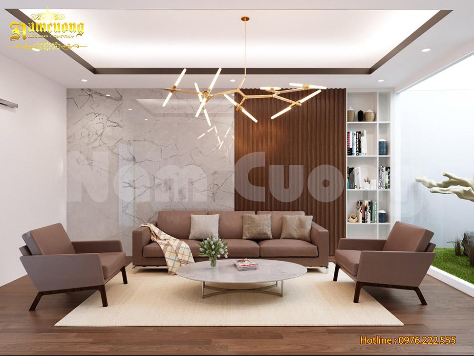 Thiết kế nội thất hiện đại cho nhà ống 4 tầng tại Hải Phòng