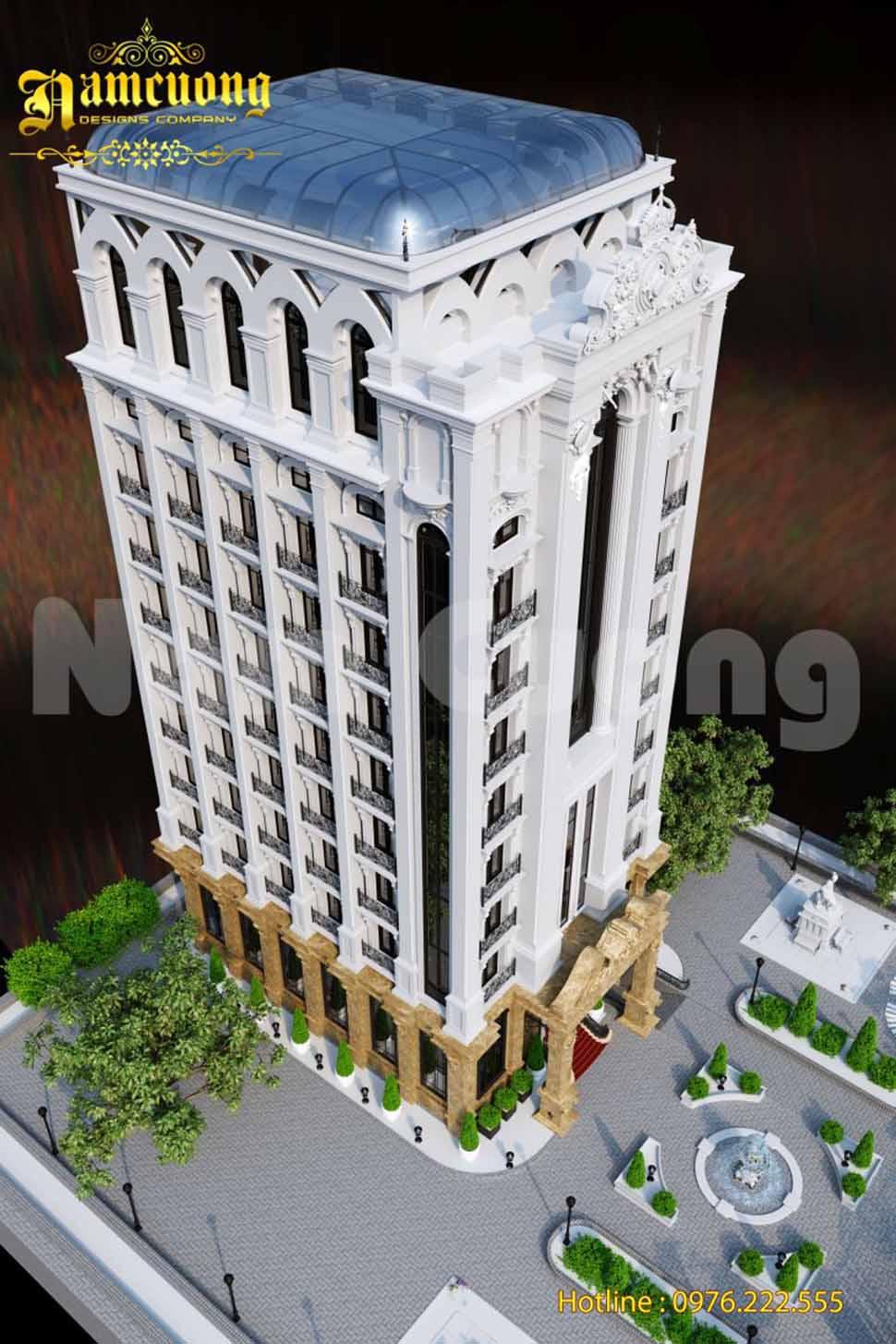 Khách sạn tân cổ điển- Phương án mới khách sạn tân cổ điển tại Sài Gòn