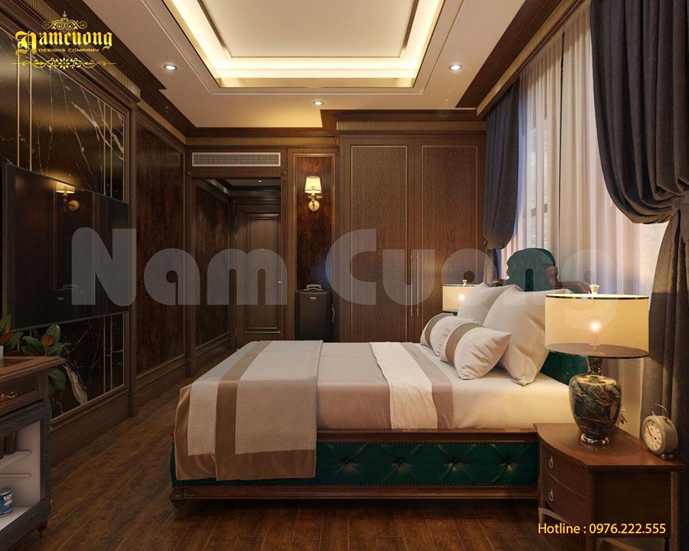 Thiết kế nội thất phòng ngủ khách sạn tại Quảng Ninh