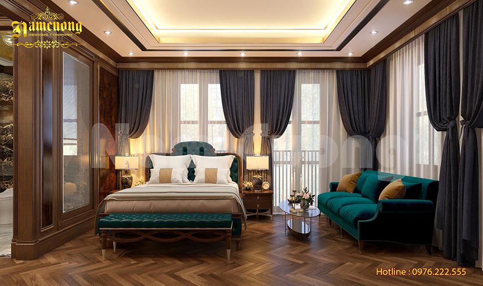Nội thất phòng ngủ- Thiết kế khách sạn tân cổ điển cao cấp
