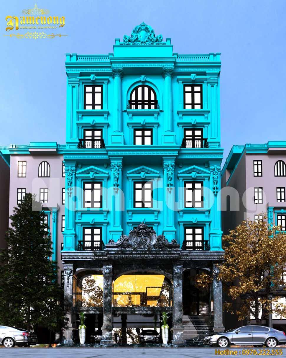 Độc đáo với mẫu thiết kế khách sạn tân cổ điển tại Bình Dương