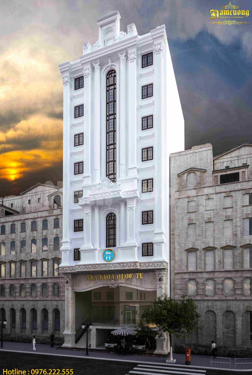 Hoàn thành thiết kế tòa nhà cao tầng tại Quảng Ninh - TNCD 001