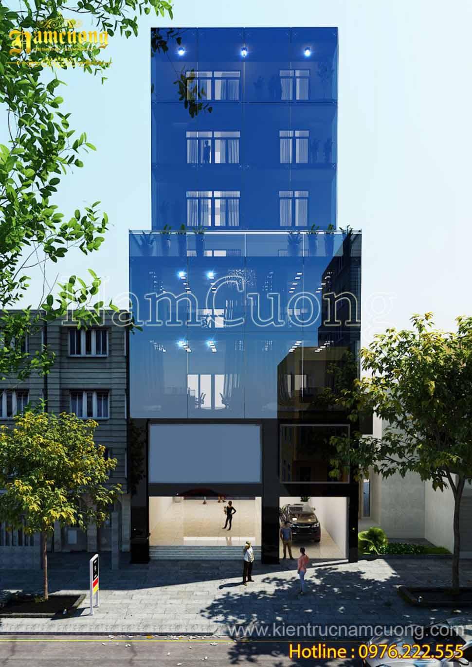 Mẫu thiết kế trung tâm thương mại hiện đại cao cấp tại Sài Gòn