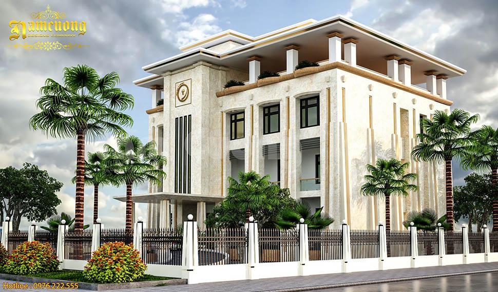Mẫu thiết kế trụ sở văn phòng văn làm việc đẹp tại Quảng Bình