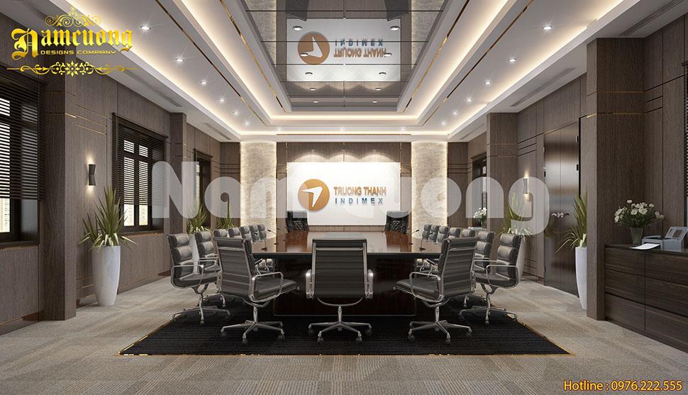 Mẫu thiết kế nội thất trụ sở văn phòng làm việc tại Quảng Bình