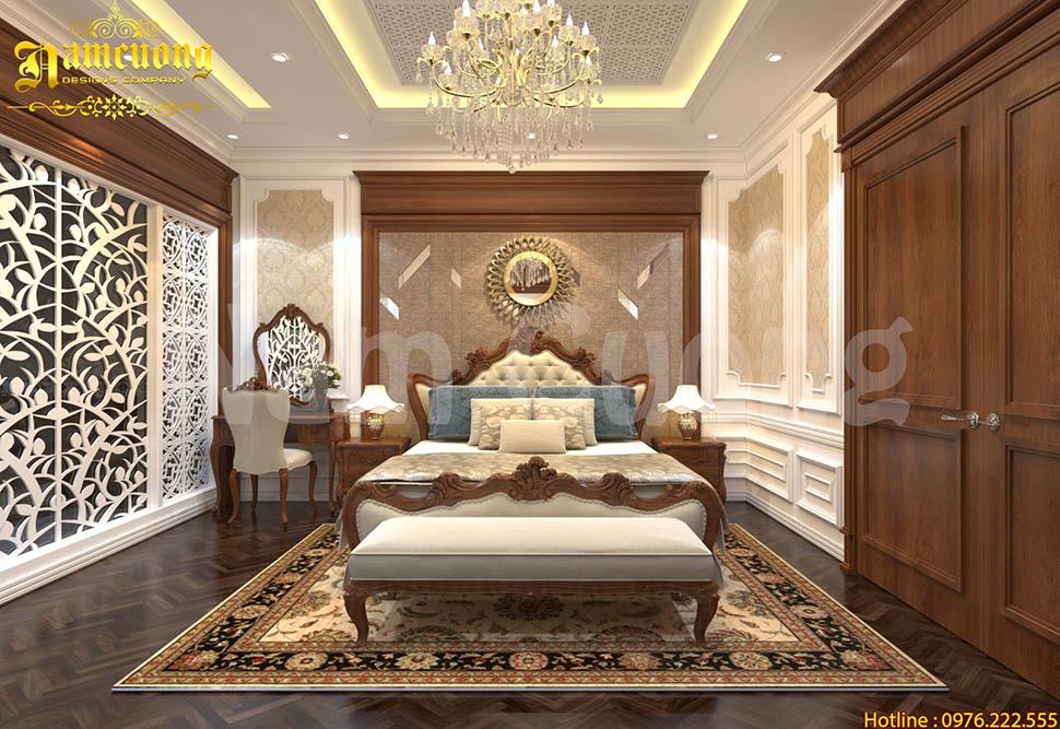 Phòng ngủ đẹp cho biệt thự tân cổ điển tại Sài Gòn - NTPN  073