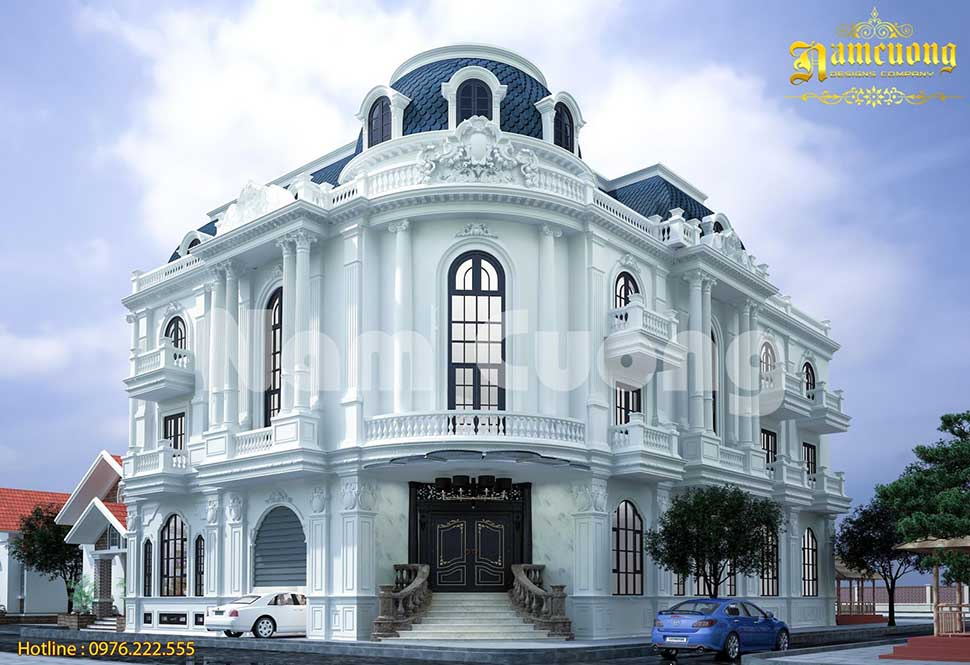 Ngắm nhìn mẫu biệt thự lô góc 3 tầng đẹp tại Nghệ An
