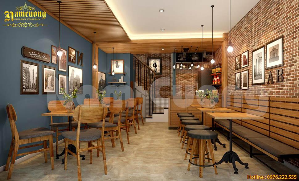 Quán cafe phong cách retro ấn tượng giữa lòng thành phố Cảng