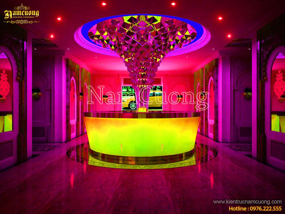 Những mẫu nội thất phòng karaoke kiểu cổ điển ấn tượng
