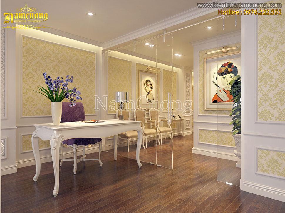 Thiết kế spa tân cổ điển ấn tượng tại Sài Gòn - SPCD 002
