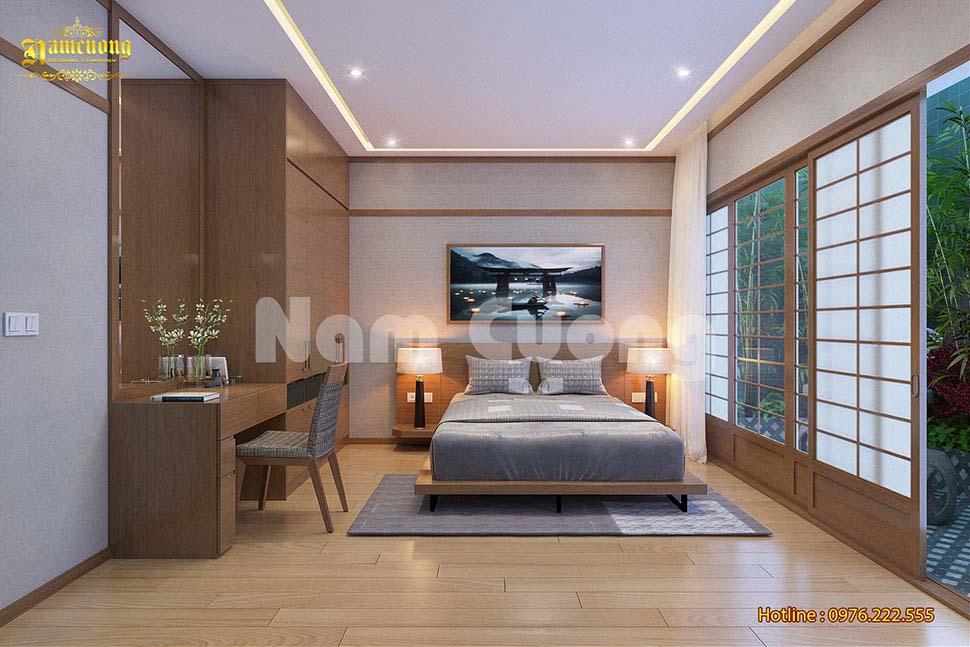 Thiết kế nội thất hiện đại phong cách Nhật Bản - NTBTHD 022