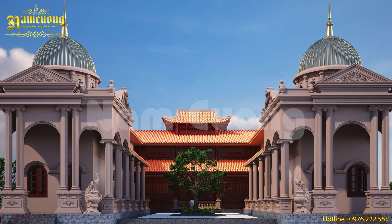 Vẻ đẹp hoài cổ trong mẫu nhà thờ kết hợp nhà ở tại Hải Phòng