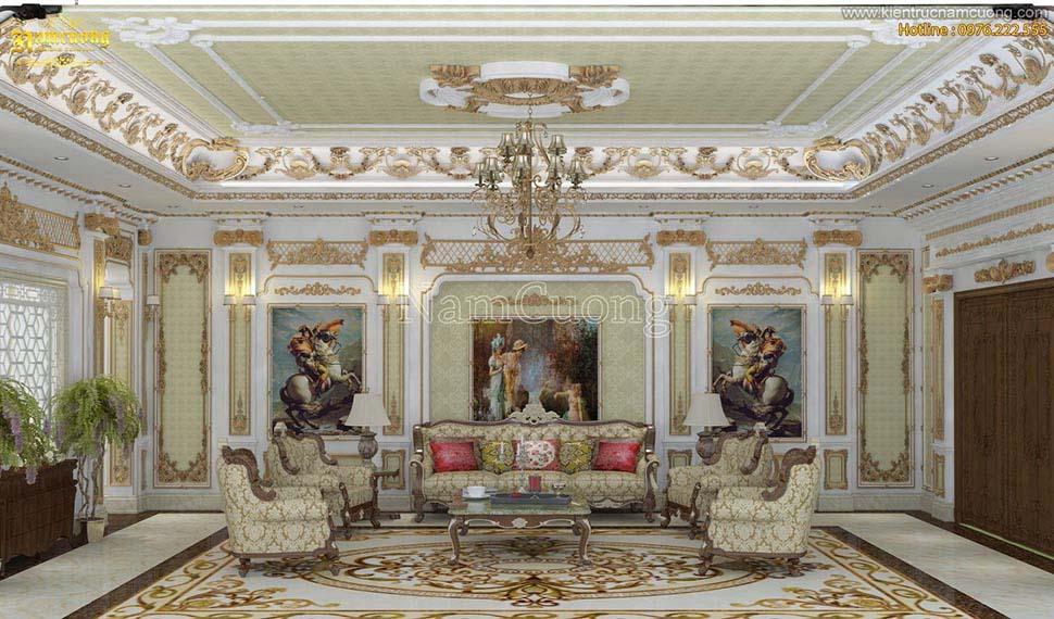 Tất tần tật thông tin về mẫu nội thất biệt thự Châu Âu kiểu Pháp