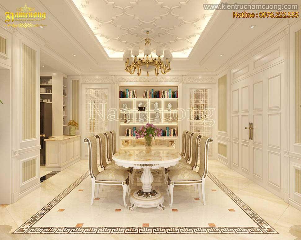 Thiết kế nội thất biệt thự tân cổ điển tại Quảng Ninh