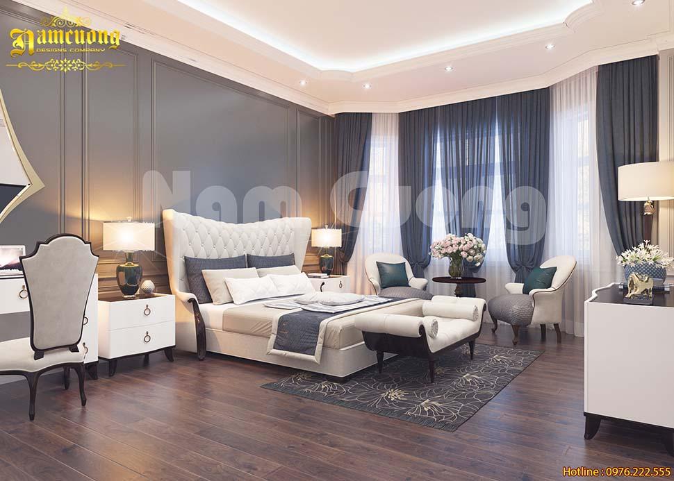 Mẫu thiết kế nội thất biệt thự vinhomes riverside đẳng cấp