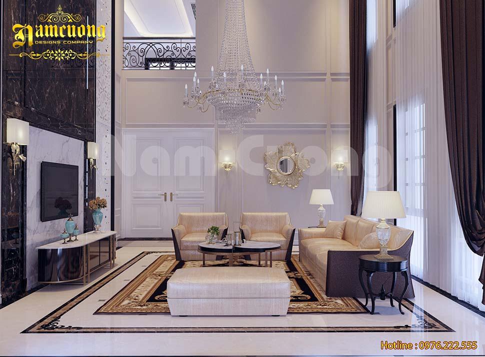 Mẫu thiết kế nội thất châu âu cổ điển đẹp cho biệt thự