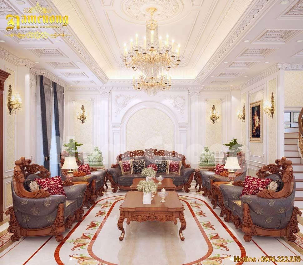 Mẫu thiết kế nội thất gỗ nhà 3 tầng đẹp