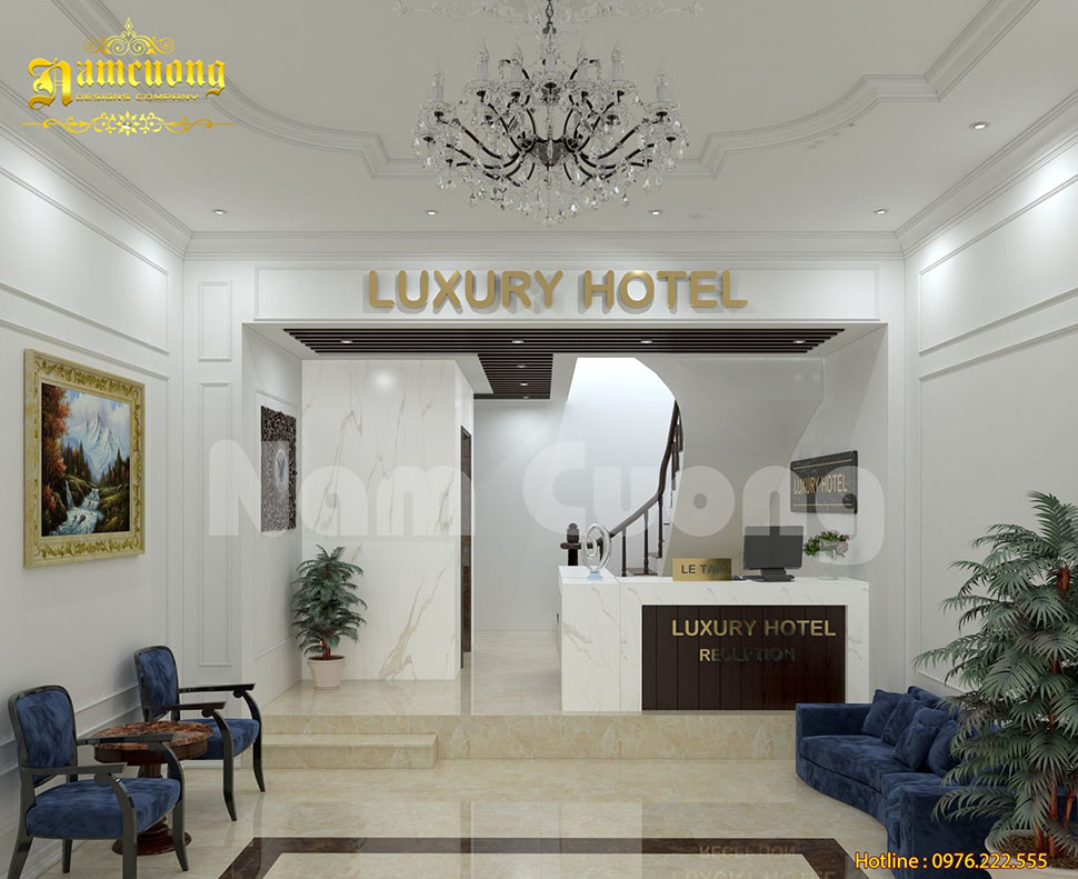 Thiết kế nội thất khách sạn sang trọng, chuyên nghiệp