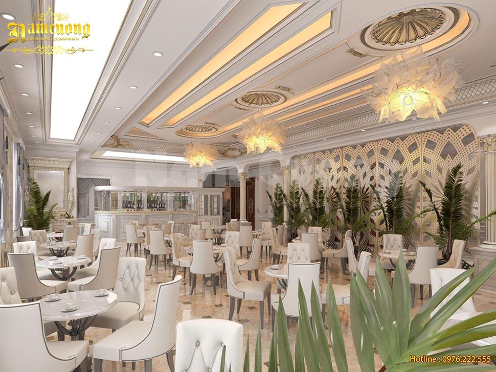 Thiết kế nội thất khách sạn mini tân cổ điển