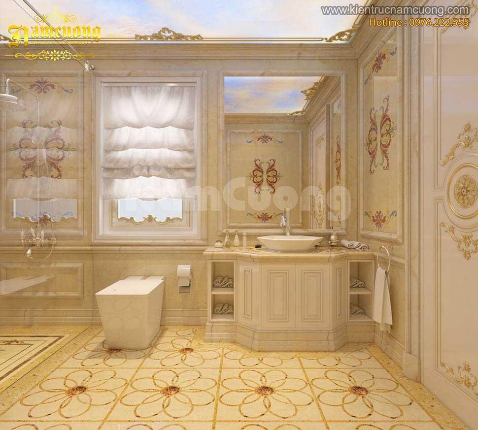 Mẫu nội thất phòng tắm biệt thự đẹp đỉnh cao