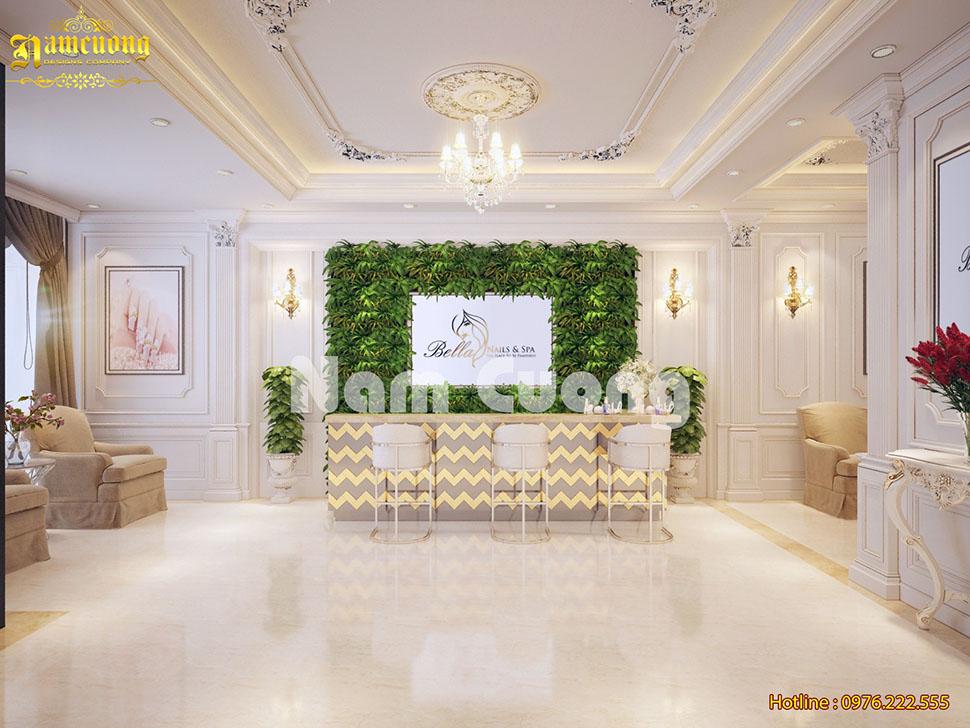 Thiết kế nội thất spa tân cổ điển cao cấp Hà Nội