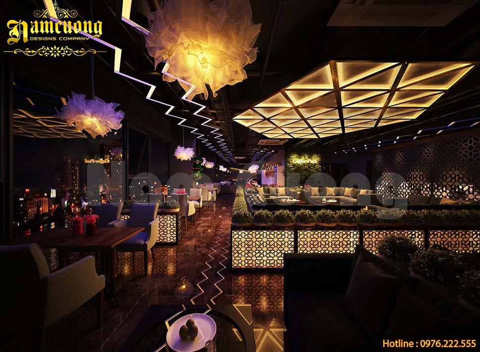 Thiết kế quán cafe ấn tượng cho năm 2019