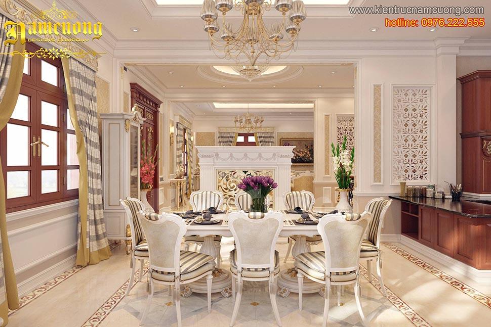 Thiết kế nội thất phòng bếp ấn tượng tại Sài Gòn - NTBTCD 027