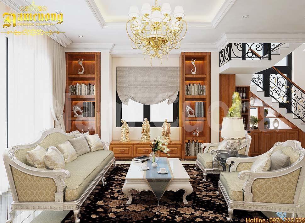 Nội thất cho biệt thự tân cổ điển ấn tượng tại Hải Phòng - NTBTCD 046