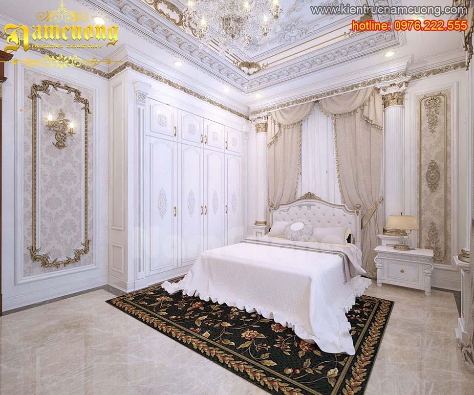 Mẫu nội thất phòng ngủ tân cổ điển đẹp tại Quảng Ninh - NTNTCD 035