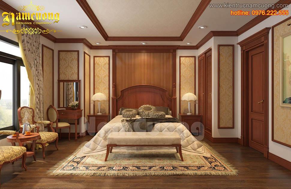 Mẫu nội thất phòng ngủ tân cổ điển ấn tượng tại Sài Gòn - NTNTCD 038