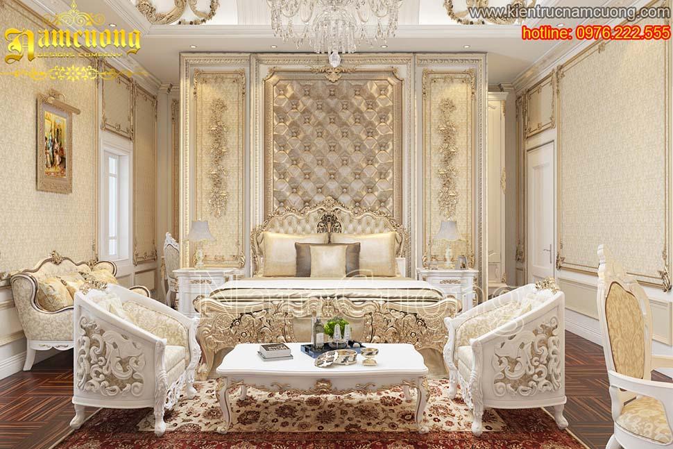 Mẫu thiết kế nội thất tân cổ điển ấn tượng tại Quảng Ninh - NTNTCD 047