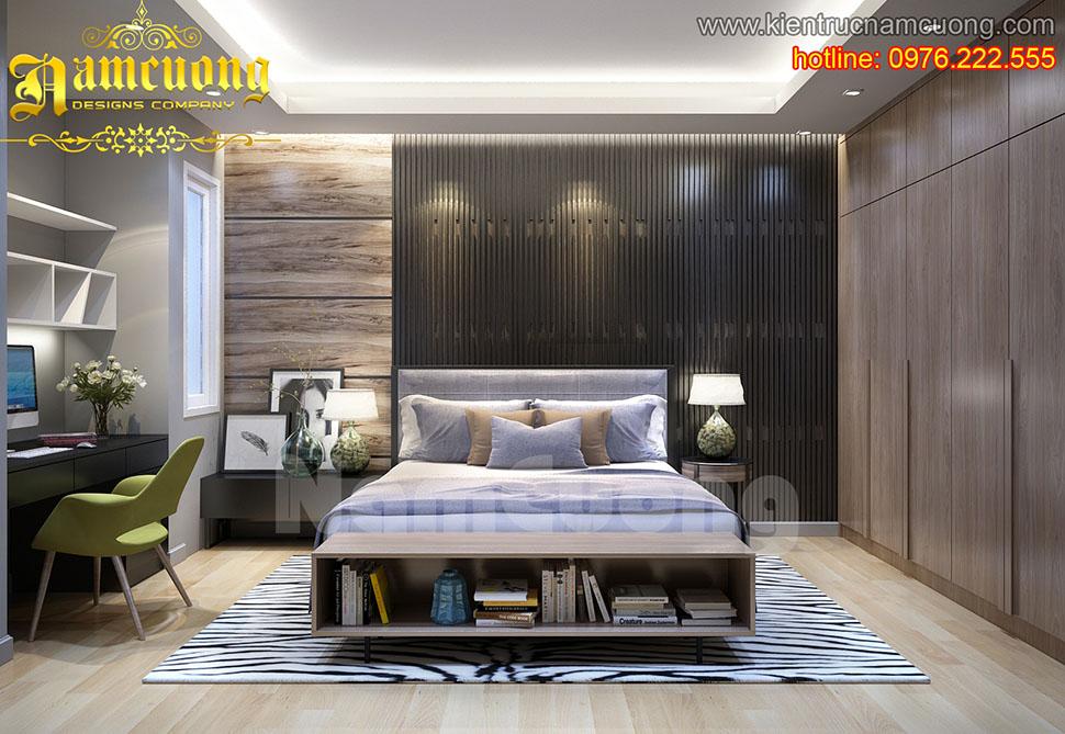 Một số thiết kế nội thất phòng ngủ cho biệt thự hiện đại - NTPN 003